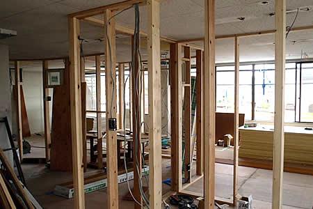 事務所や店舗の改修工事